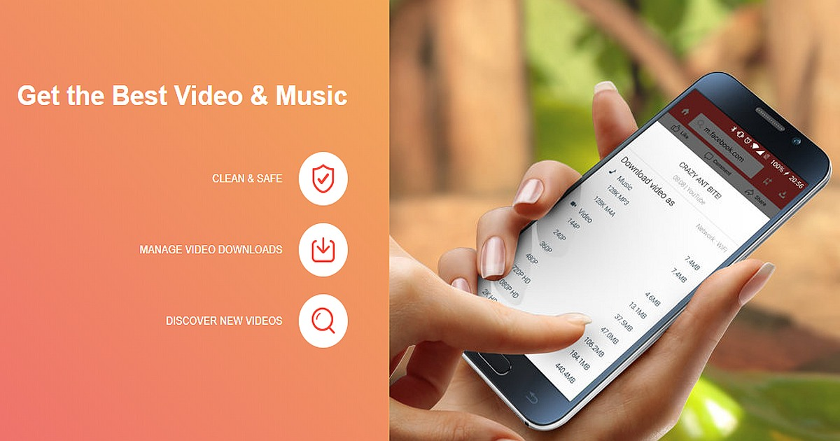 Install Snaptube Video and Music App