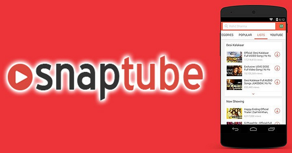 Download Snaptube Video and Music Free